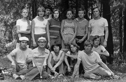 1977.07 Сборная, 3 командное место на Ч России, Куйбышев