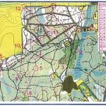 Карта с дистанцией Белые ночи - 2012.06.28