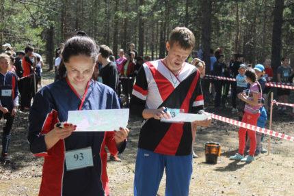 Бурцева Юлия (призер) и Илясов Роман (победитель)