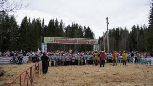 Российский Азимут 2011 Сыктывкар - масстарт детей до 10-ти лет