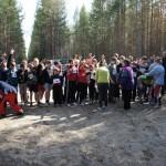 21 мая. 2-я гонка по гандикапу. Старт последних участников