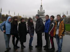 Наша команда в Москве на ВВЦ