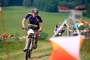 Ярославский спортсмен Александр Архипов на дистанции велоориентирования