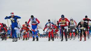 Александр Архипов на старте злополучной гонки
