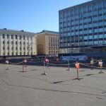 Спортивный лабиринт на Стефановской площади Сыктывкара