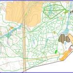 Зимняя спортивная карта Динамо (привязанная по GPS), 2011, Сыктывкар